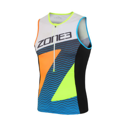 Zone3 Men's Lava Long Distance Tri Top