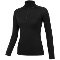 dhb Womens Merino LS Zip Neck Base Layer (M_200)