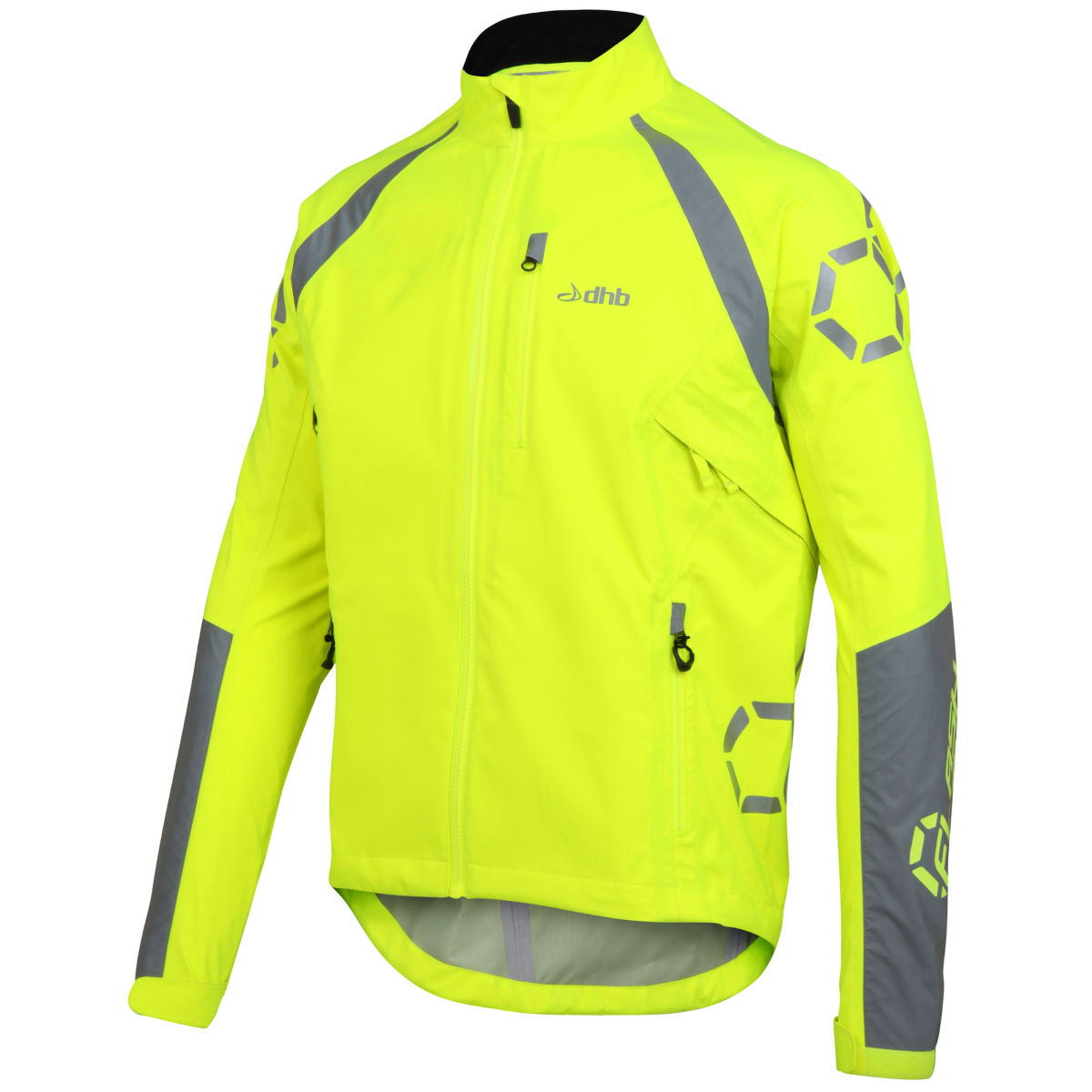 Chaqueta impermeable dhb Flashlight Force - Chaquetas