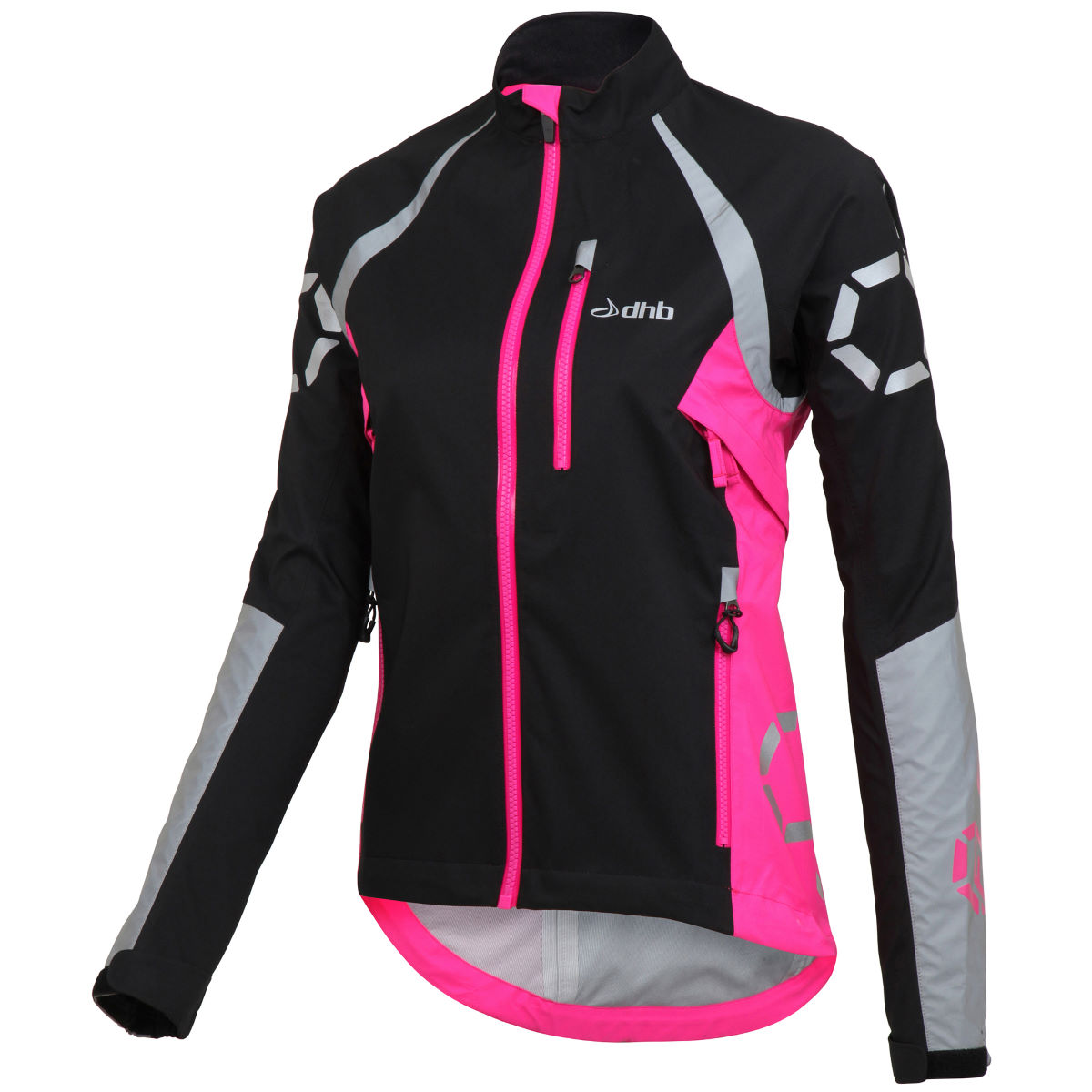 dhb Flashlight Womens Force Waterproof Jacket   Cycling Waterproof Jackets