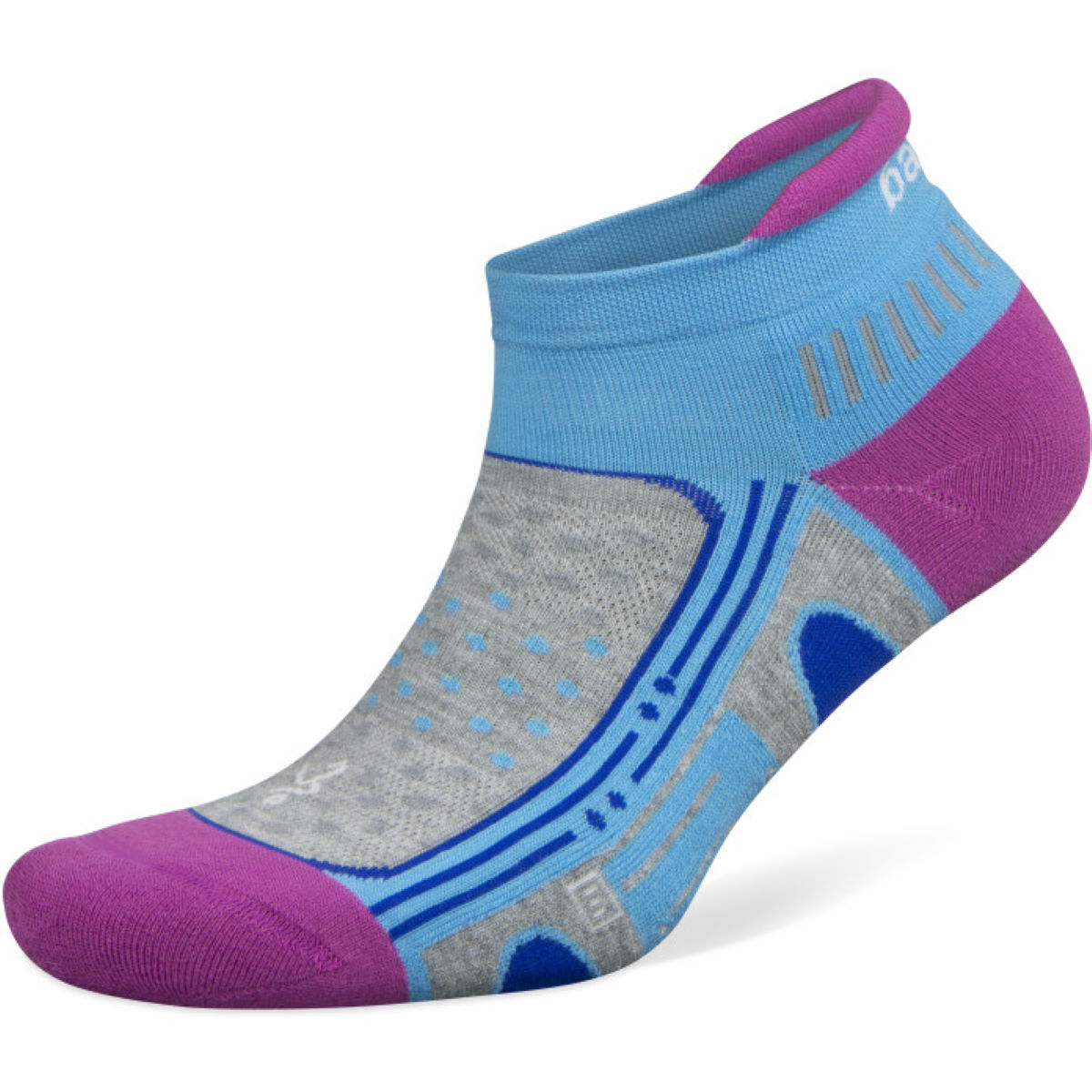 Chaussettes Femme Balega Enduro No Show - small Etheral Blue