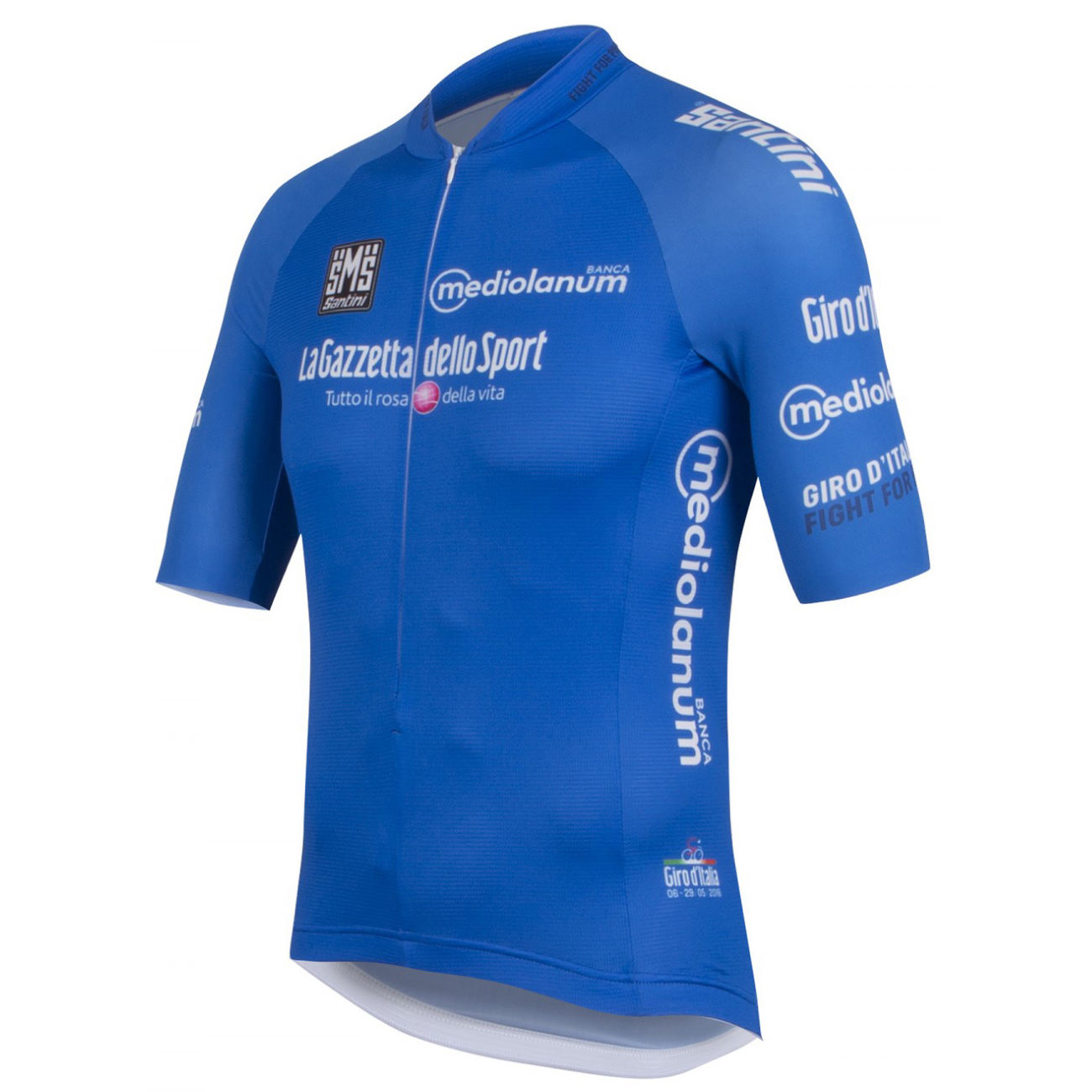 maillots manches courtes santini giro d 39 italia king of the mountains jersey 2016. Black Bedroom Furniture Sets. Home Design Ideas
