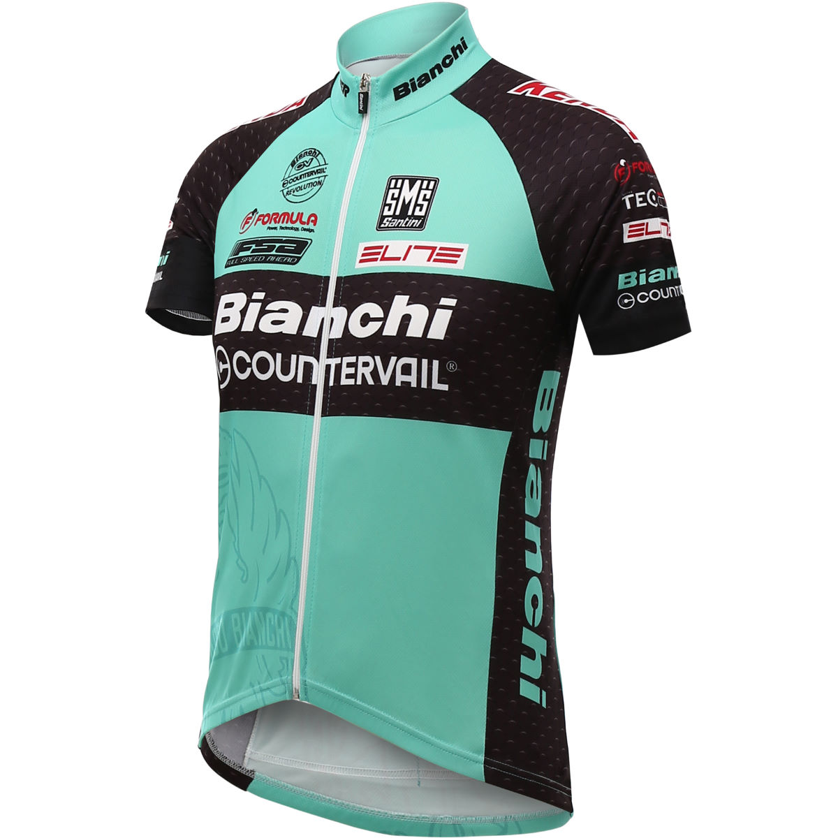 Santini-TX-Active-Bianchi-Jersey-2016-Short-Sleeve-Jerseys-Blue-SS16-CAS2520S Micros Low Cost