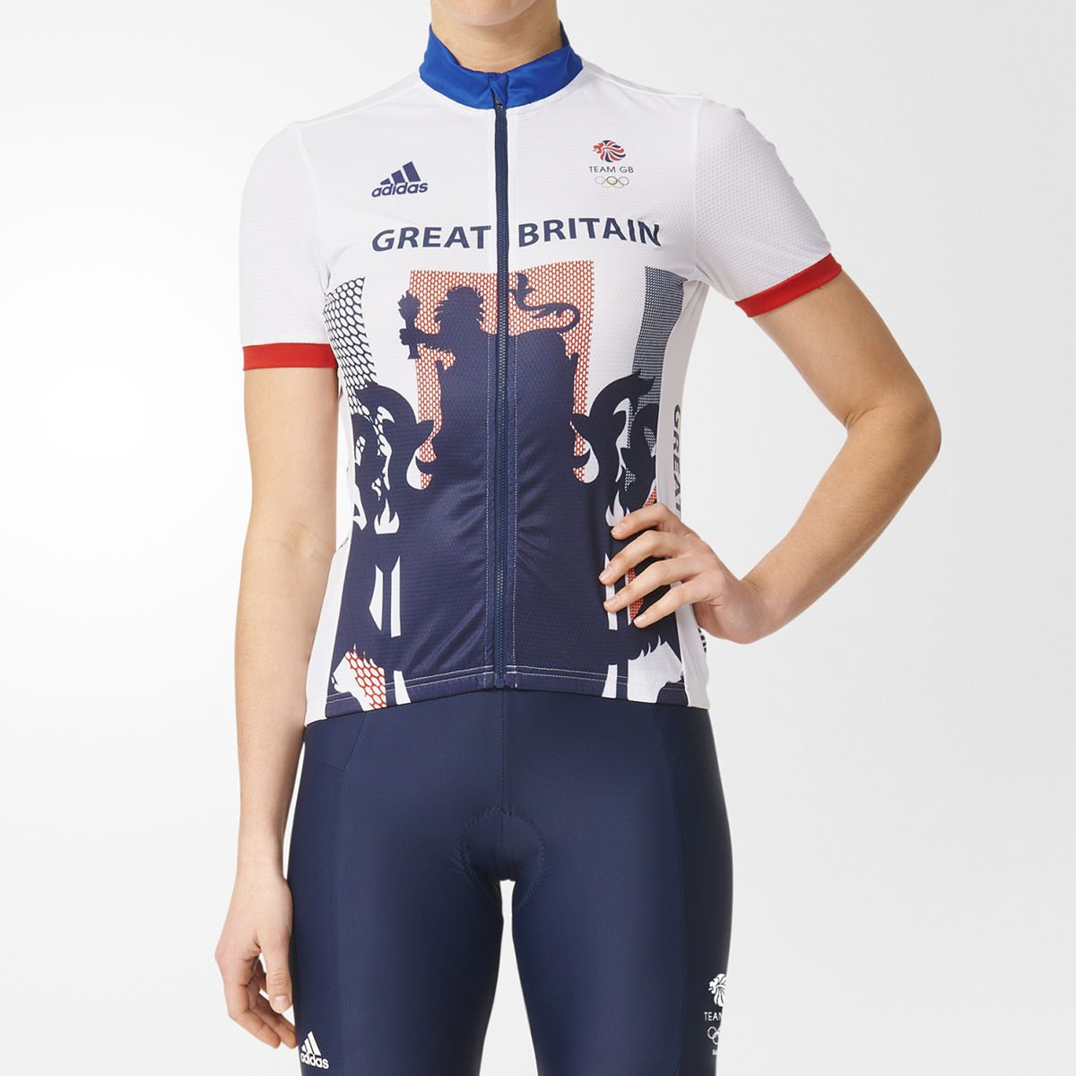 fd72933d06a Wiggle Cycle To Work | adidas Cycling Women's GB Replica Jersey ...