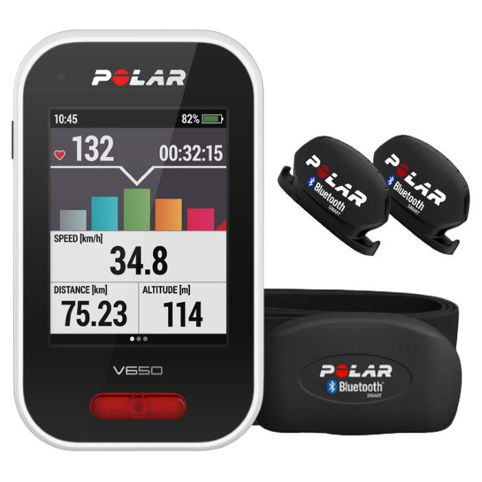 polar v650 strava gps radcomputer hf geschwindigkeit. Black Bedroom Furniture Sets. Home Design Ideas