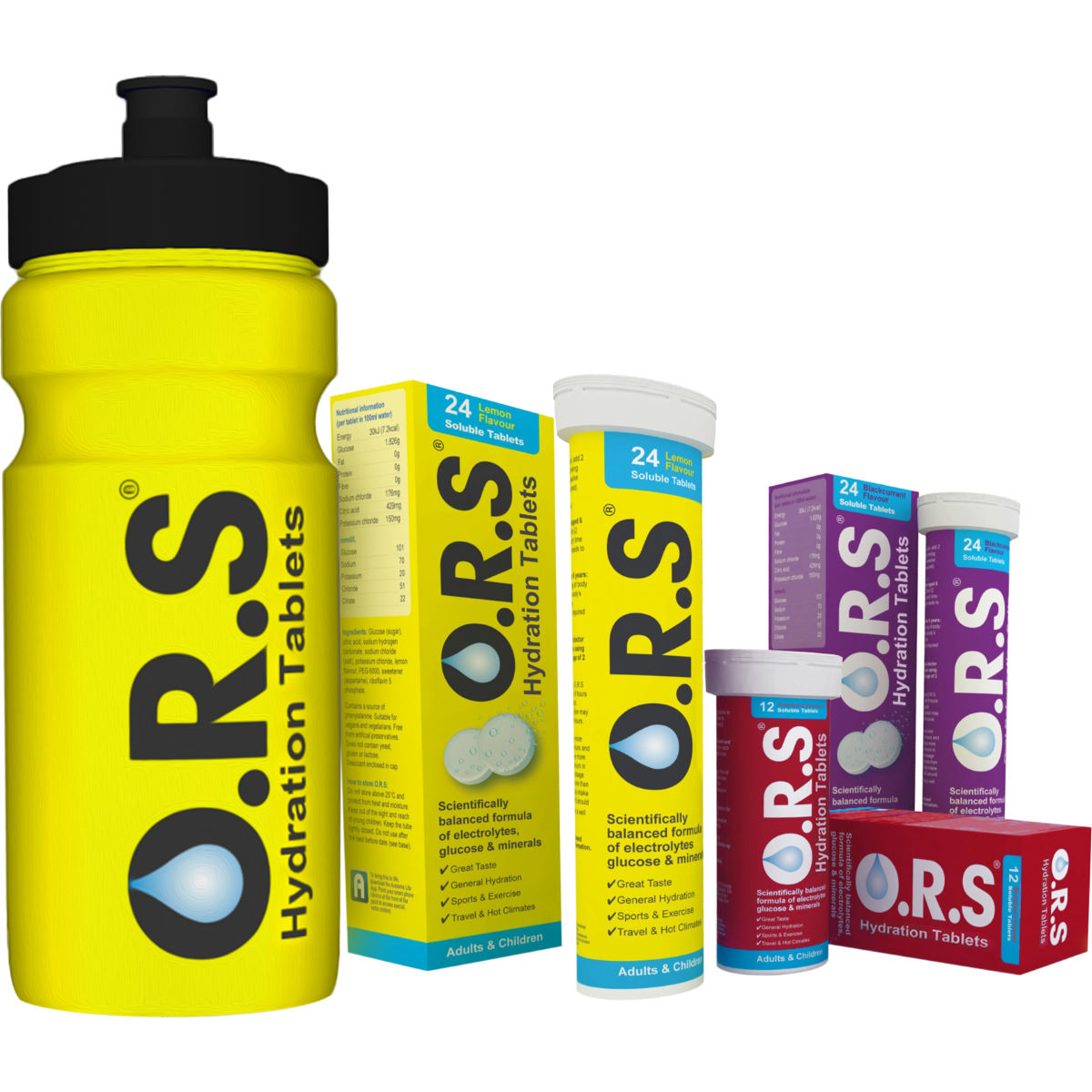 O.R.S Hydration Tablets (Wiggle Exclusive Offer Pack)
