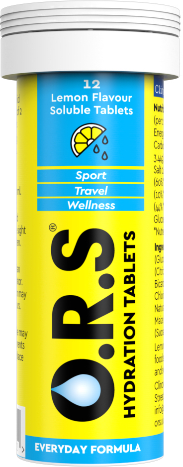 O.R.S Hydration Tabs (20 Tabs)   electrolyte tabs