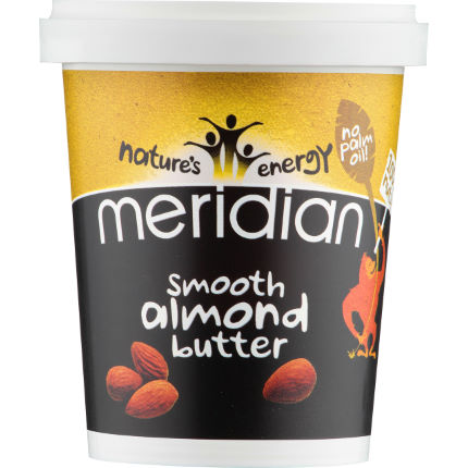 Meridian Smooth Almond Butter (454g Tub)