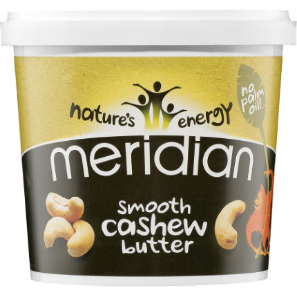 Meridian Smooth Cashew Butter (1000g Tub)