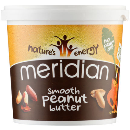 Meridian Natural Peanut Butter (1000g Tub)