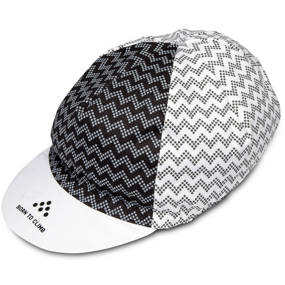 Image of Casquette Isadore Climbers - Taille unique Noir/Blanc | Casquettes