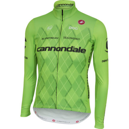 View in 360° 360° Play video. 1.  . 1. Castelli s Cannondale Thermal Long  Sleeve Jersey ... 21cd8bbec