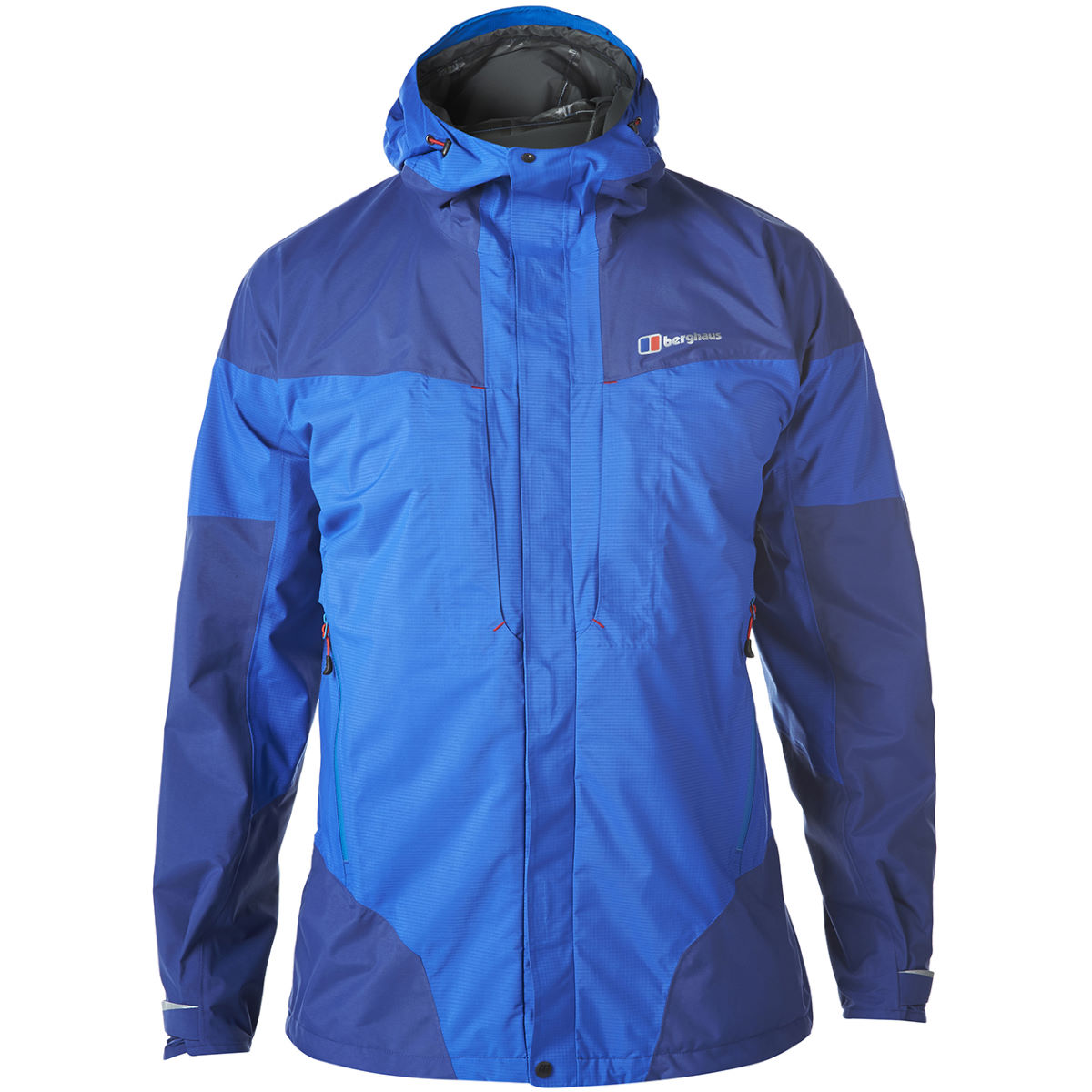 Berghaus light trek hydroshell jacket waterproof jackets intense blue aw16 421533ibt