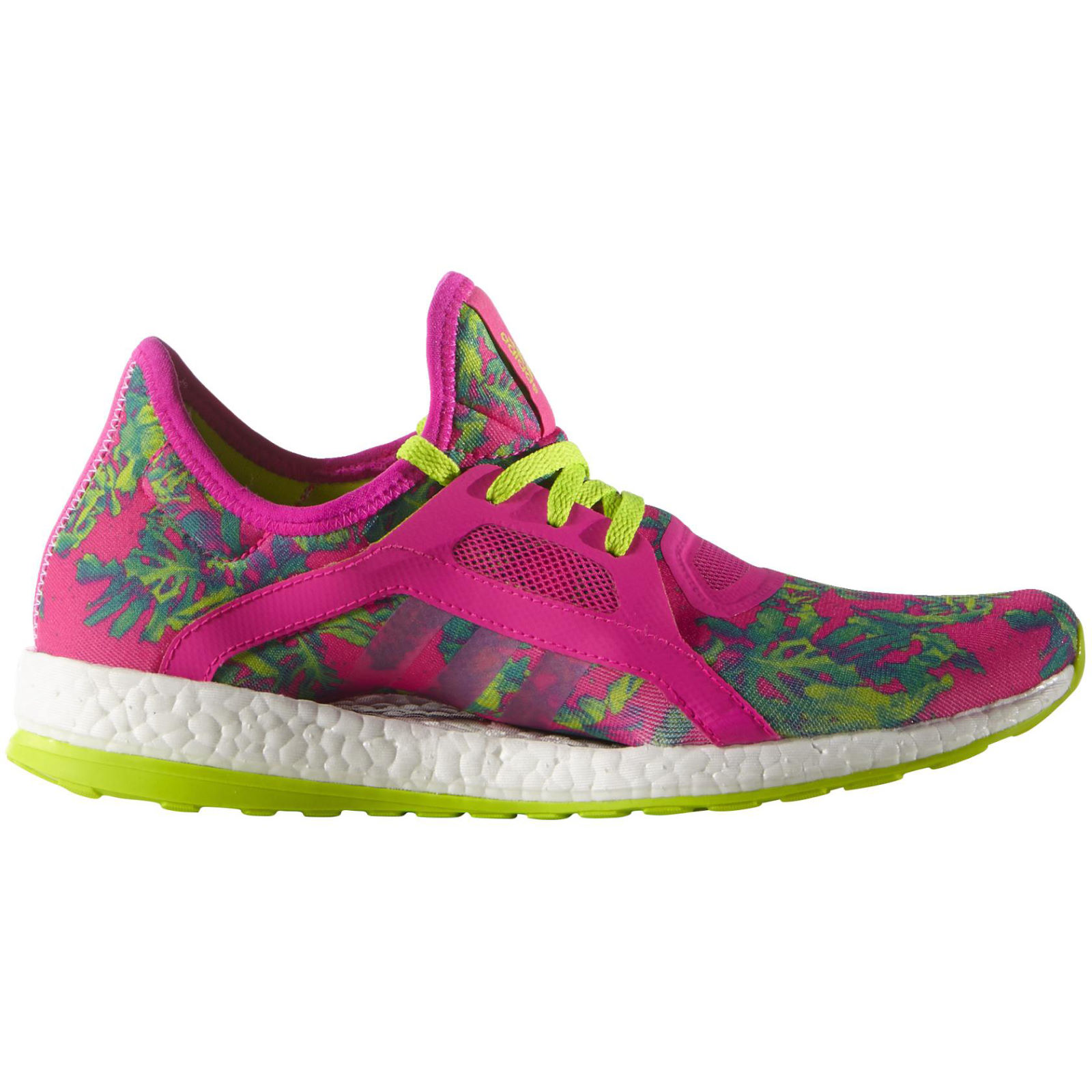 Adidas Women S Pure Boost X Shoes Pink Slime Ss