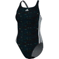 adidas Womens Infinitex Energy 3 Stripe Swimsuit (AW16)