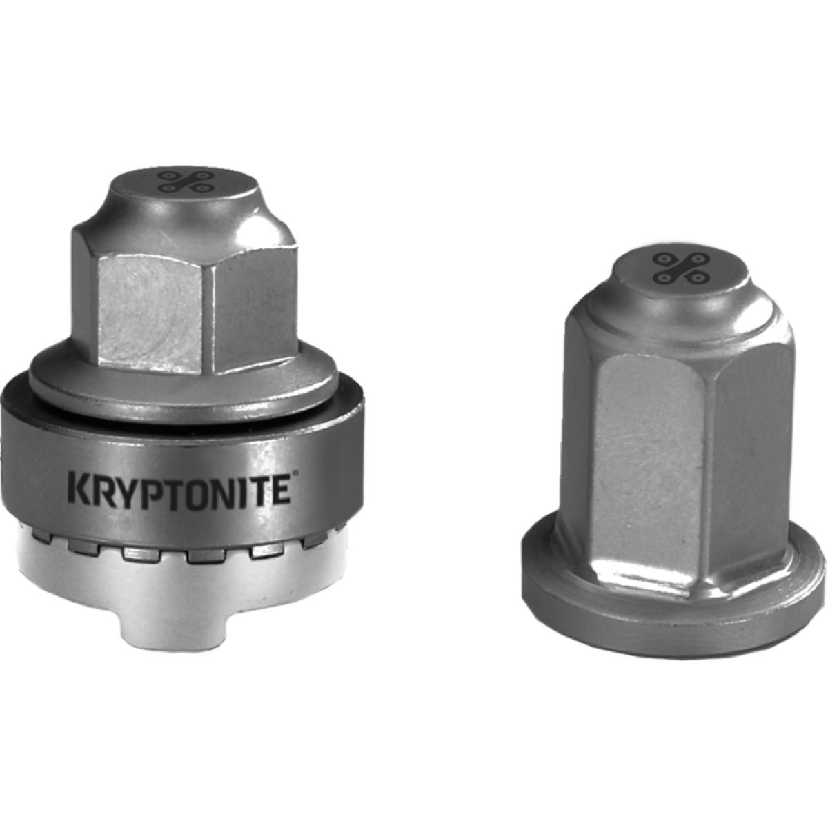 Tuercas de seguridad para ruedas Kryptonite Security WheelNutz - Recambios para bujes