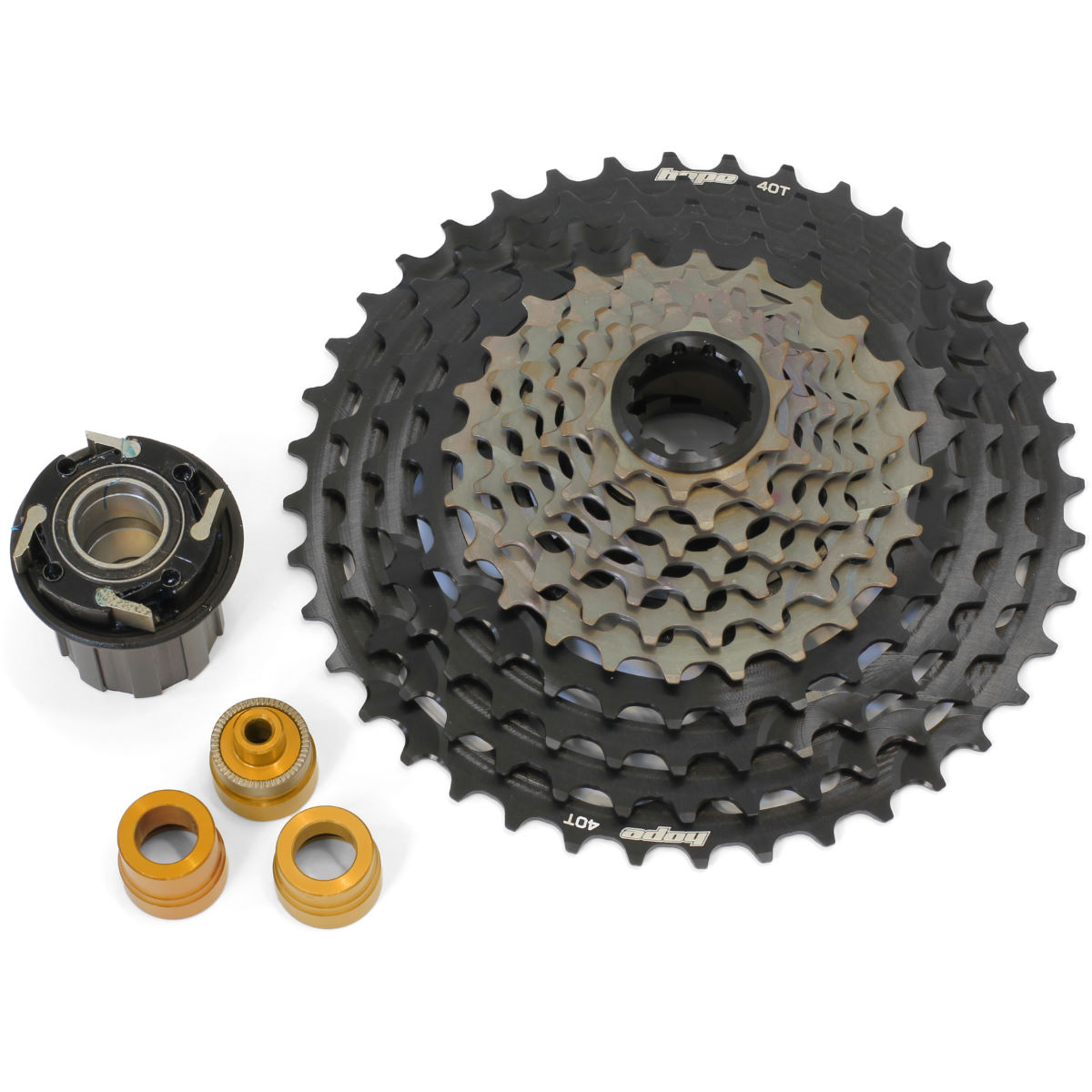 Hope 11 Speed Cassette With Evo Freehub - 10-40t 11 Speed Black