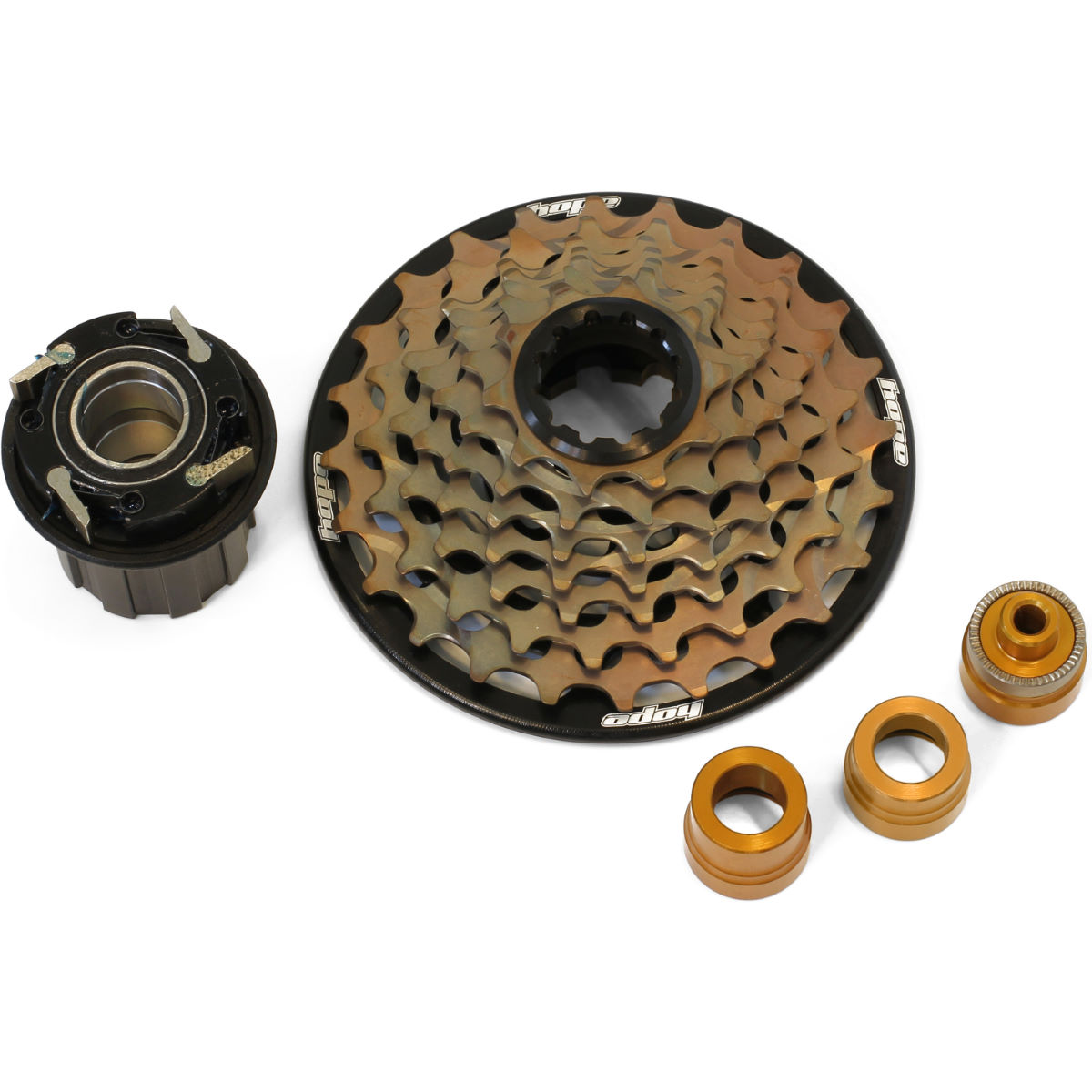 Hope Hope 7 Speed Cassette with Freehub   Cassettes