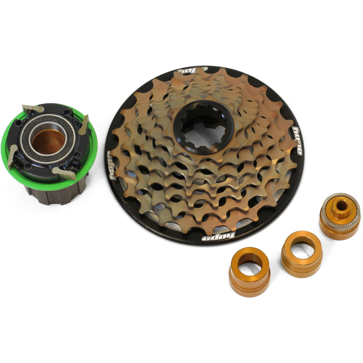 Hope 7 Speed Cassette With Freehub - 10-24t Pro 4 Freehub Black