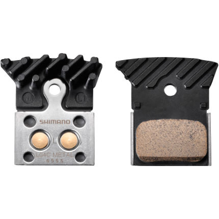 Shimano Road Disc Brake Pads - Alloy Backed