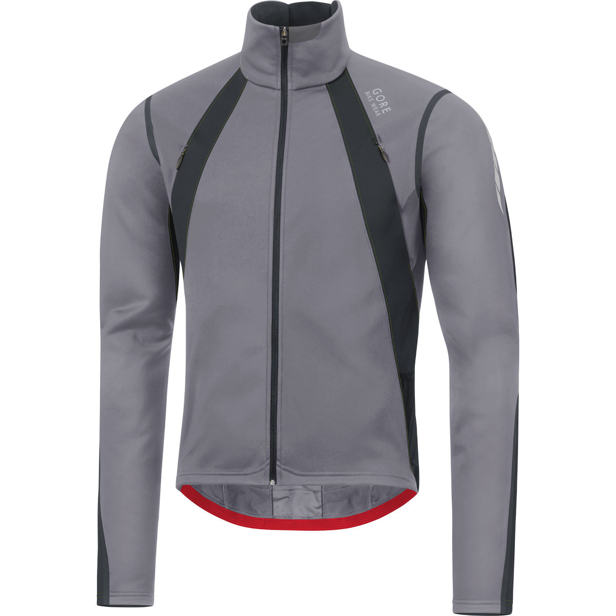 Veste Gore Bike Wear Oxygen Windstopper - M Asteroid Grey/Black