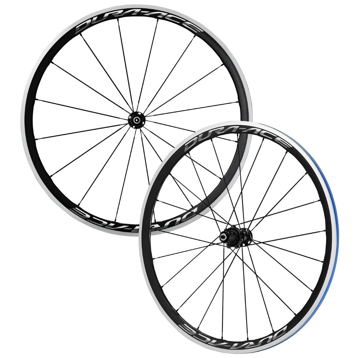 Shimano Dura Ace R9100 C40 Carbon Clincher Wheelset - Black