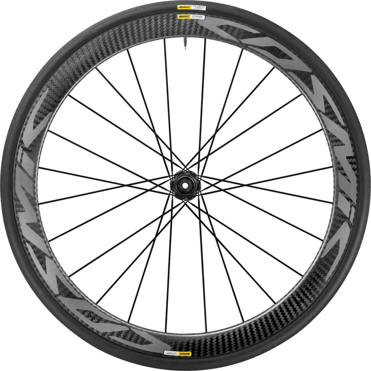 Front wheel Mavic Cosmic Pro Carbon Disc (with cover) - Competition wheels