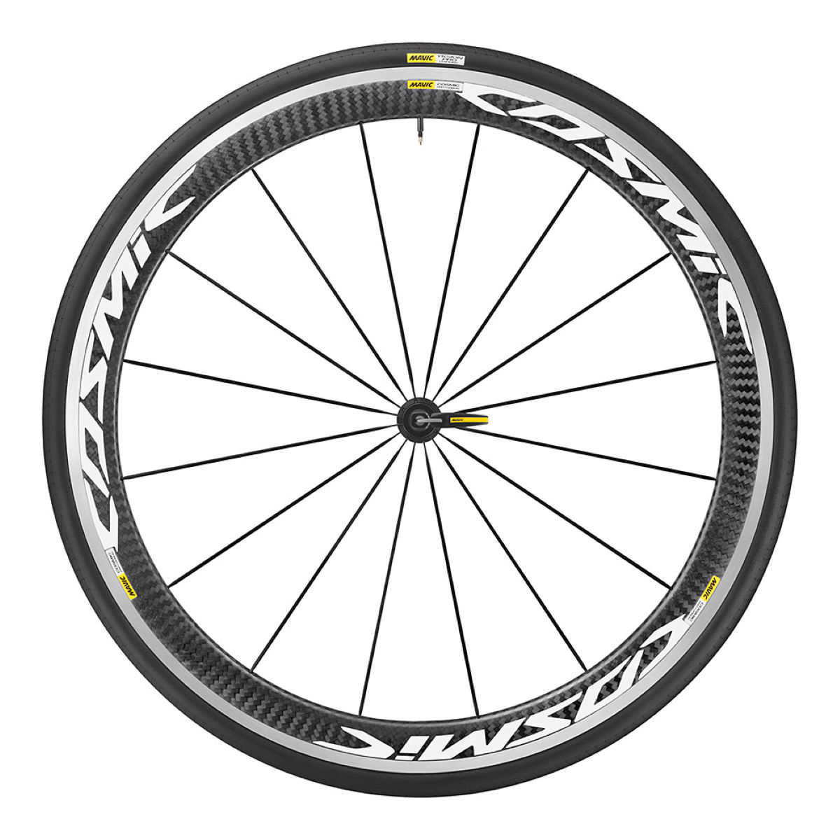 Front wheel Mavic Cosmic Pro Carbon (with cover) - Competition wheels