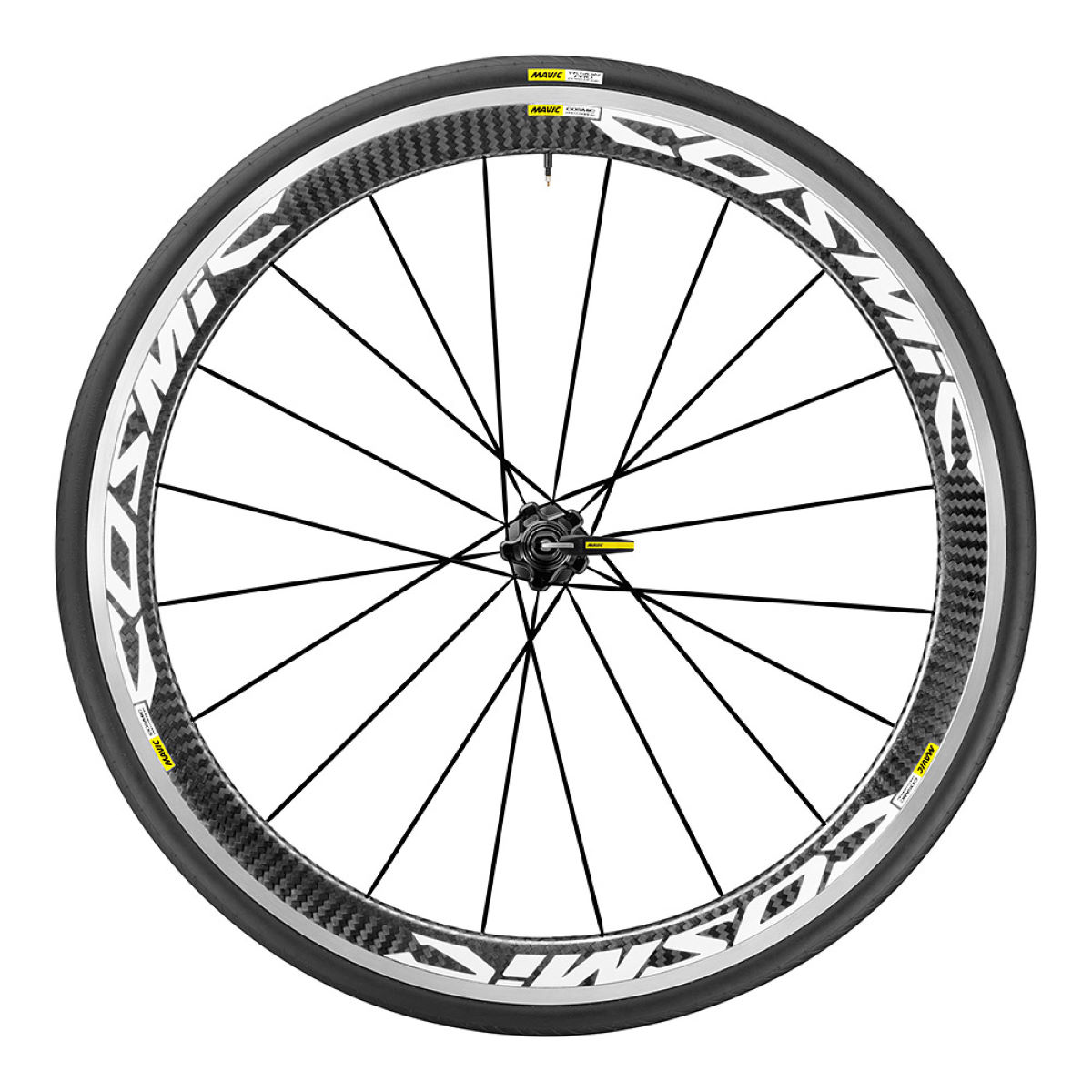 Mavic Cosmic Pro Carbon rear wheel (with cover) - Competition wheels