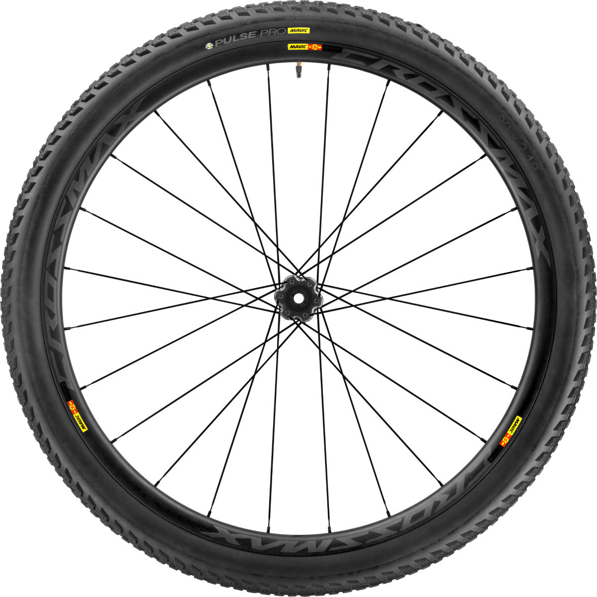 "Front wheel Mavic Crossmax Pro Carbon 29 ""(with cover) - Competition wheels"