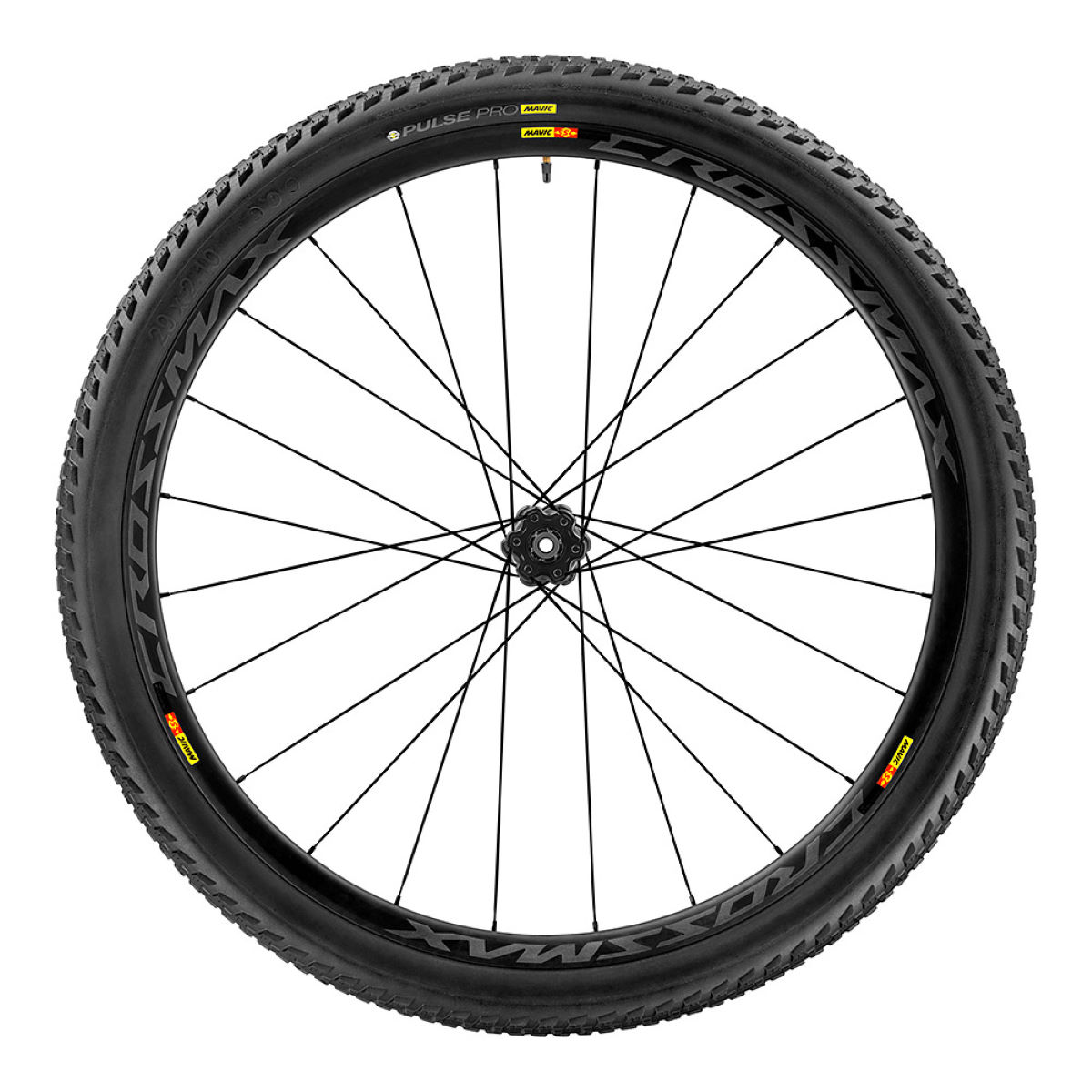 "Rear wheel Mavic Cossmax Pro Carbon 27,5 ""(with cover) - Competition wheels"