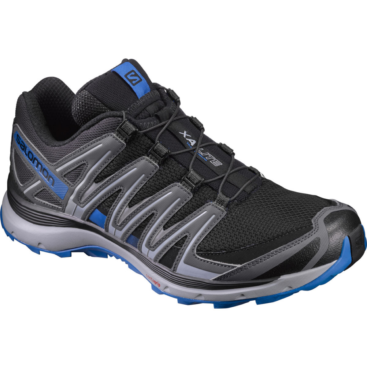 Salomon xa lite shoes offroad running shoes black quiet shade bl aw17 l393307007