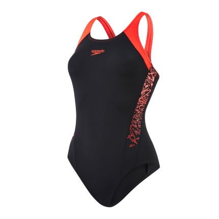 Speedo Womens Boom Splice Muscleback Swimsuit