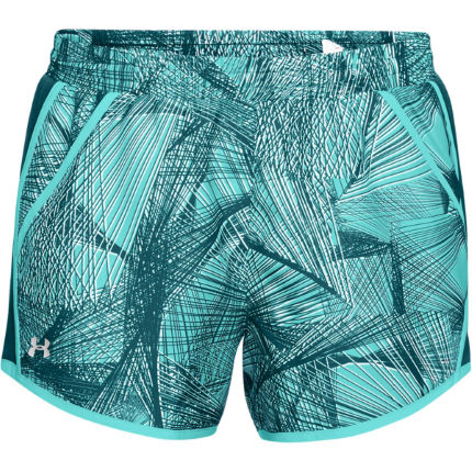 Under Armour Women's fly By Printed Run Short