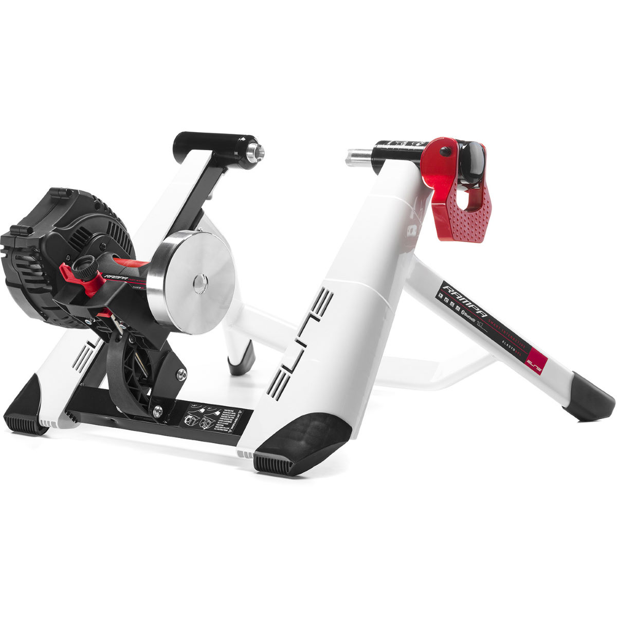 Elite Rampa FE-C, B+ Smart Trainer – One Size White | Turbo Trainers
