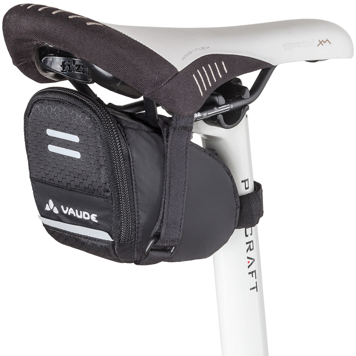 VAUDE Race Light L Sadeltaske, black (2020) | Saddle bags
