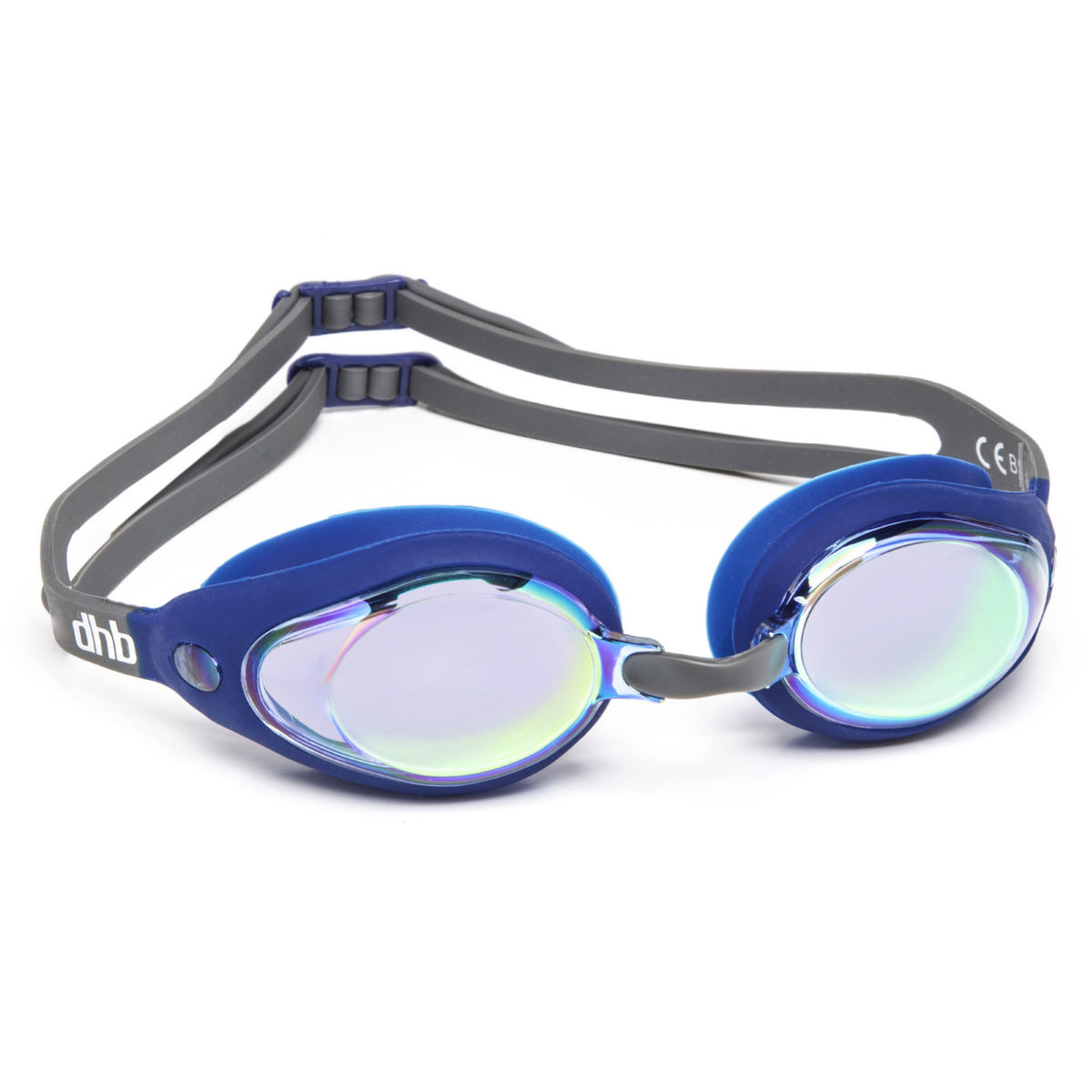 Dhb Socket Mirror Goggles - One Size Blue  Goggles