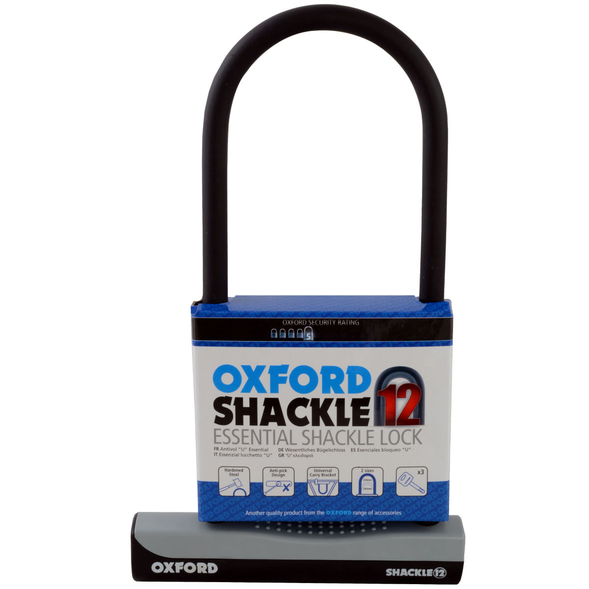Oxford Oxford Hercules Security U Lock   D Locks