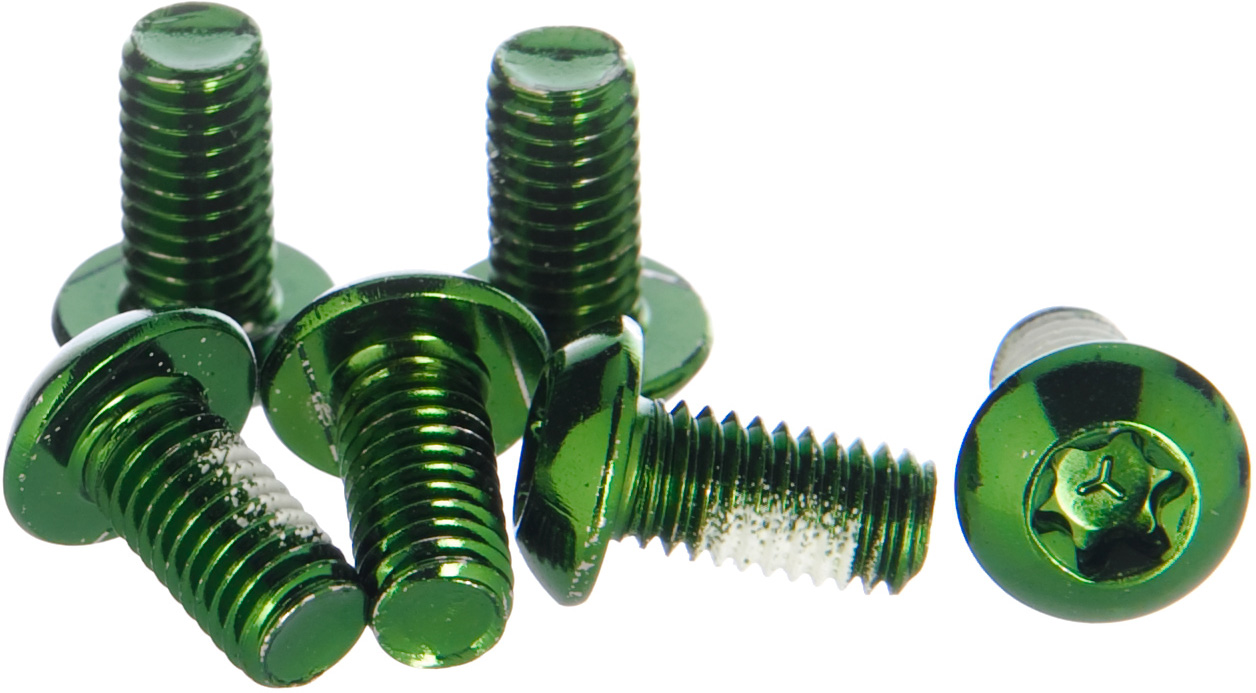 Clarks Steel Anodised Rotor Bolts | nuts_and_bolts_component