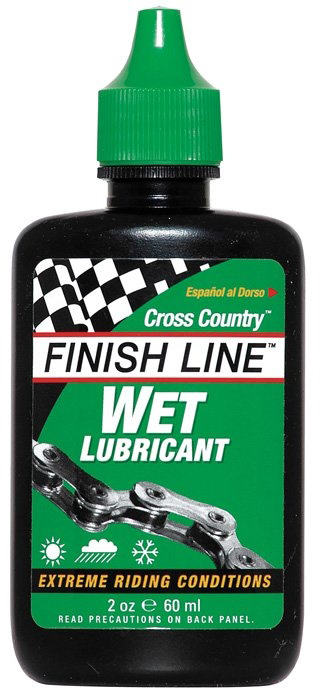 Finish Line Cross Country Wet Lube - 60ml | polish_and_lubricant_component