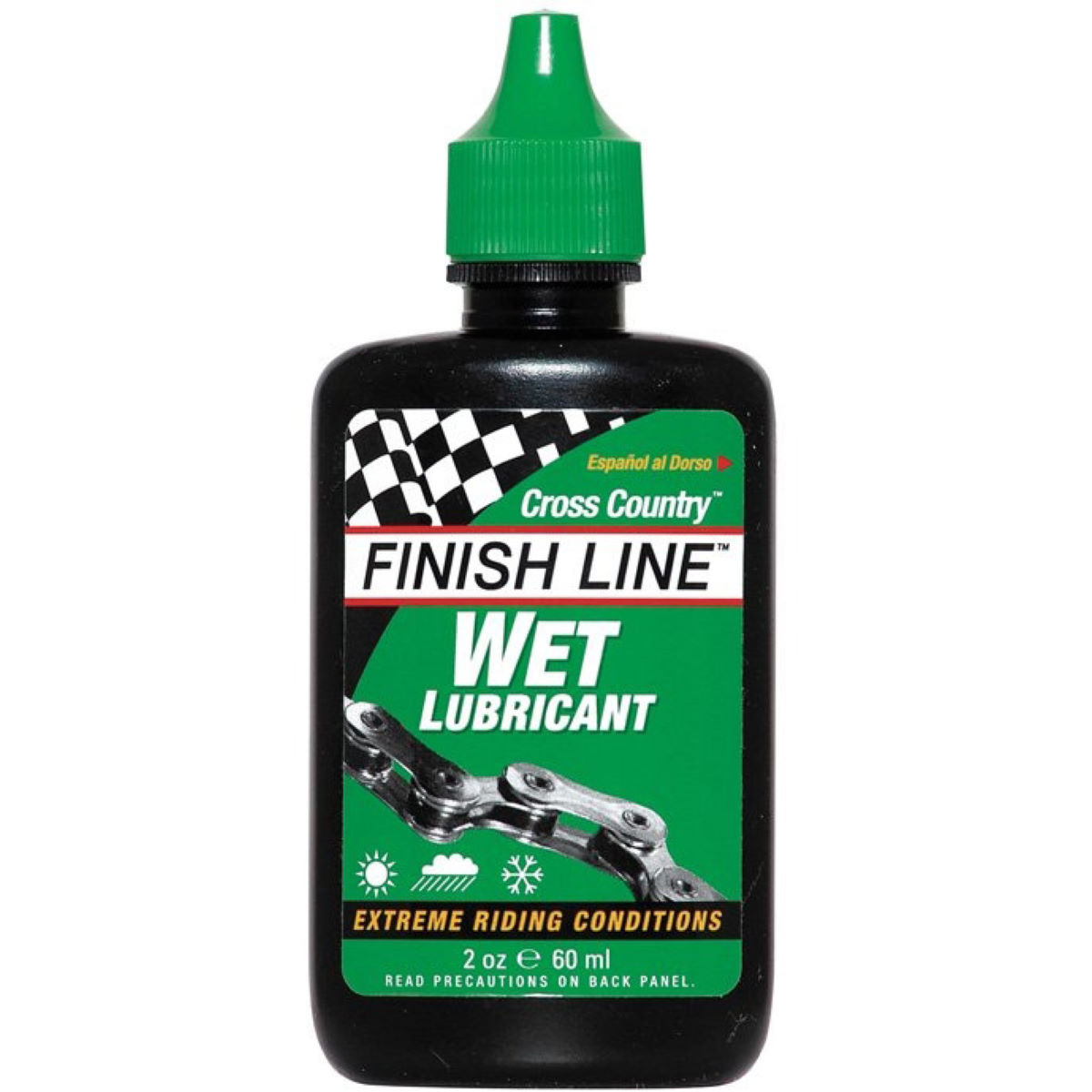 Finish Line Finish Line Cross Country Wet Lube - 60ml   Lube