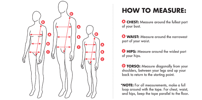 TYR How To Measure