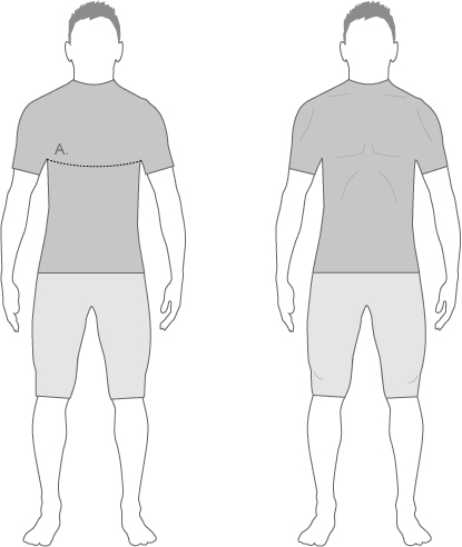 Assos Mens Jerseys Size Diagram
