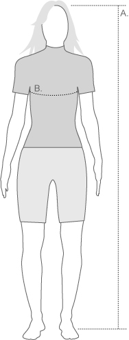Zoot Womens Wetsuit Measure Diagram