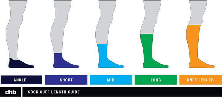 dhb sock length guide